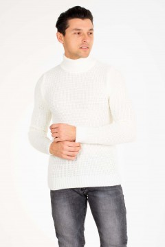 PULL MAILLE COL ROULÉ