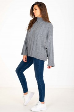 PULL COL ROULÉ OVERSIZE