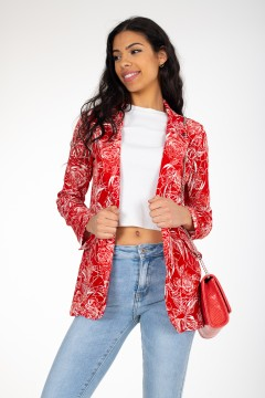 BLAZER ROUGES ROSES