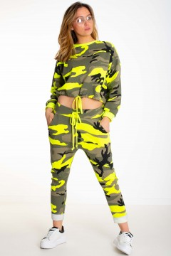 SWEAT COURT MILITAIRE