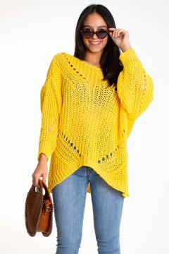 PULL MAILLE CROCHET