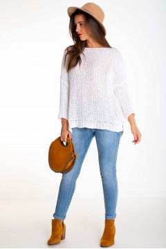 PULL MAILLE OVERSIZE