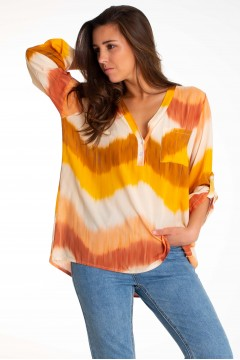 BLOUSE TIE AND DYE
