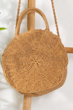 SAC PAILLE ROND