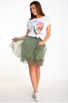 JUPE TULLE COURTE
