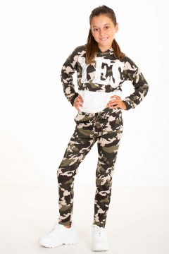 SWEAT YES MILITAIRE